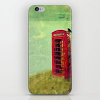 Phone Booth iPhone & iPod Skin