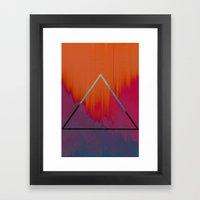 Clear As Day Framed Art Print