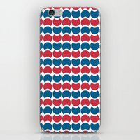 Hob Nob America Stripes iPhone & iPod Skin
