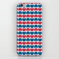 Hob Nob America Stripes iPhone & iPod Skin