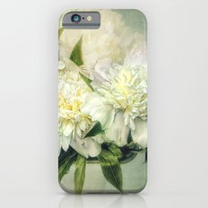 white and green Slim Case iPhone 6s