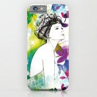Bella Fashion Watercolor… iPhone 6 Slim Case