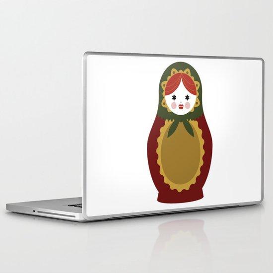 Matrioska-007 Laptop & iPad Skin