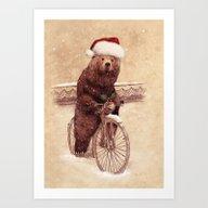 A Barnabus Christmas Art Print