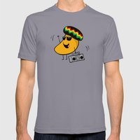 Jamaican Mango Mens Fitted Tee Slate SMALL