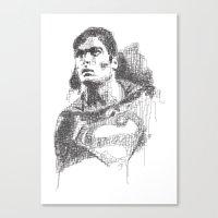 Christopher Reeve Portrait Canvas Print