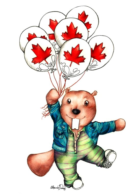 Bob's Balloons  Art Print