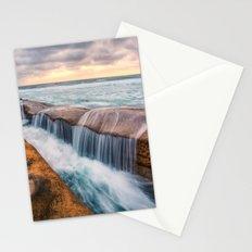 Ocean waves landscape Stationery Cards