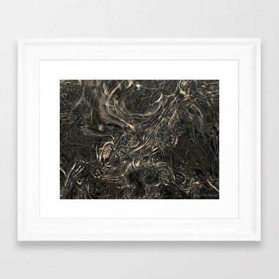 Nightmare of a Winter Night Framed Art Print