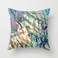 MERMAIDS SECRET Throw Pillow