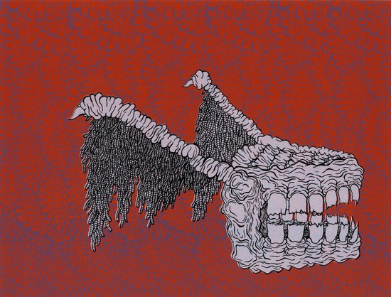Tooth Monster Art Print