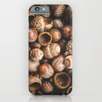 iPhone & iPod Case featuring Squirrel Harvest by Andrea Hurley