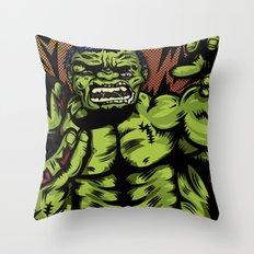 Hulkenstein SMASH! Throw Pillow