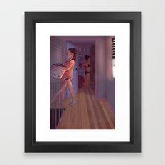 Morgwen Mornings Framed Art Print