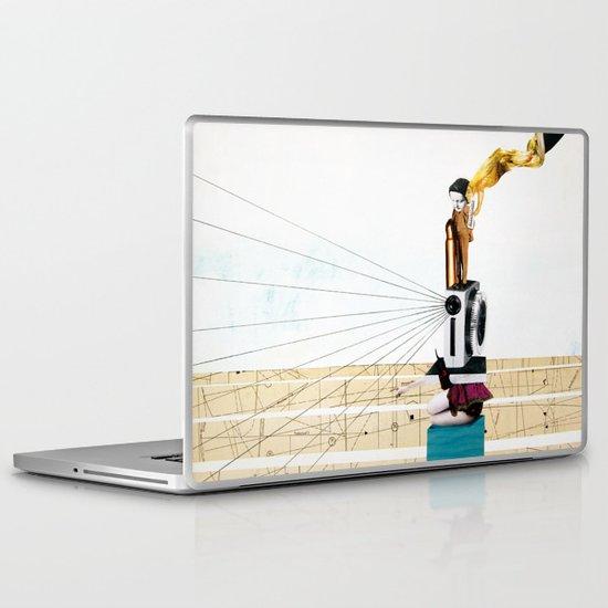 pitying muse Laptop & iPad Skin