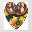 Happy Valentine's Day :) Canvas Print