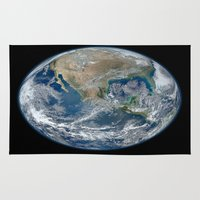 The Blue Marble Rug