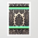 Chic Pattern Art Print
