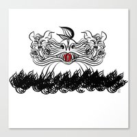 The Sign Of Jonah Canvas Print
