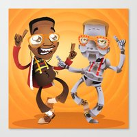 Do The Urkel Canvas Print