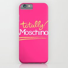 Totally Moschino Slim Case iPhone 6s