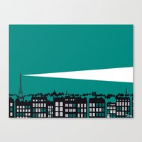 Paris La Nuit Canvas Print