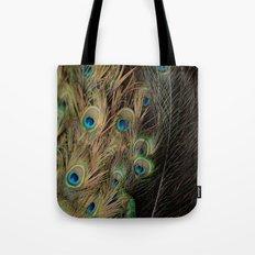 Peacock #1 Tote Bag