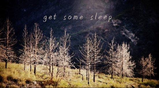 get some sleep Art Print