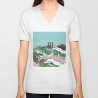 another abstract dream 3 Unisex V-Neck