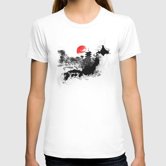 Abstract Kyoto - Japan T-shirt