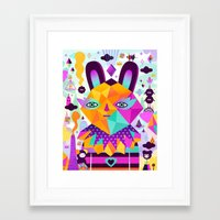 Octogo Framed Art Print