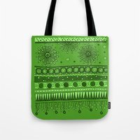 Yzor Pattern 007 Green Tote Bag