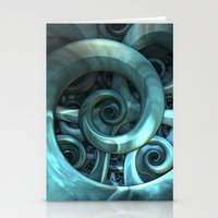Gone Spiral Stationery Cards