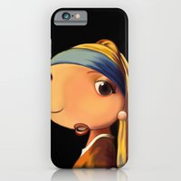Girl with a Pearl Earring iPhone 6 Slim Case