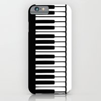 iPhone & iPod Case featuring Piano by Macrobioticos