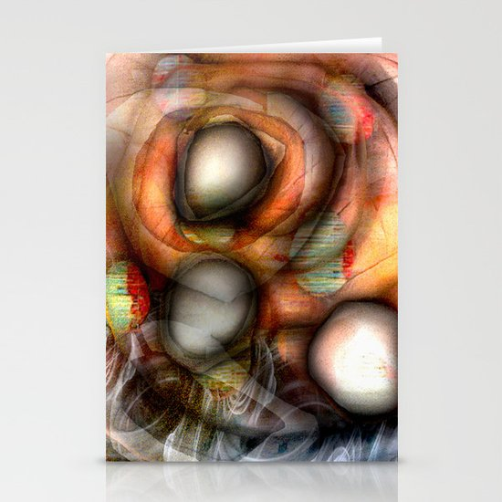 Collision  Stationery Card