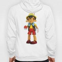 Skull Pinocchio Hoody