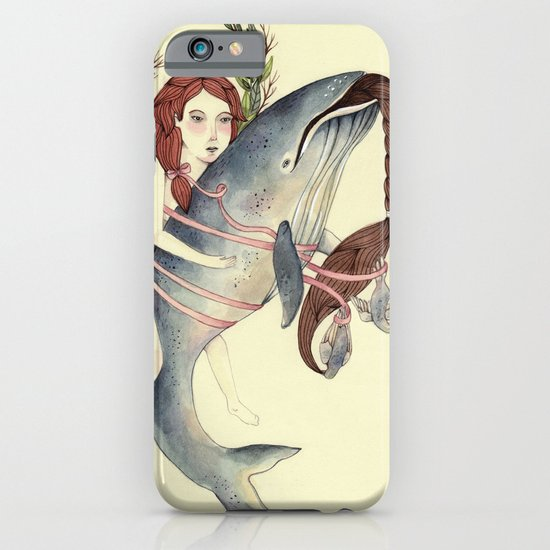 Ribbons Whale iPhone & iPod Case