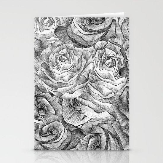 Rose #2 Stationery Card
