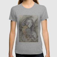There Are Spies Among Us Womens Fitted Tee Athletic Grey SMALL