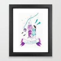 Sea Freaks Framed Art Print