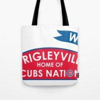 Wrigleyville Tote Bag