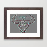 El Toro Framed Art Print