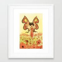 Goblins Drool, Fairies Rule! - Poppy Smock Framed Art Print
