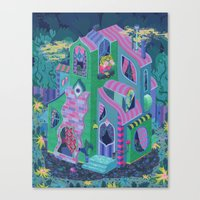 Ambrose's House Canvas Print