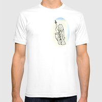 Time Travel #2 Mens Fitted Tee White SMALL