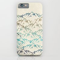 iPhone Cases featuring Mountains  by rskinner1122