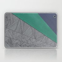 Black, Turquois, Dark Bl… Laptop & iPad Skin