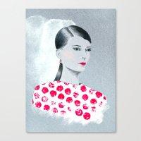 Sandra Canvas Print