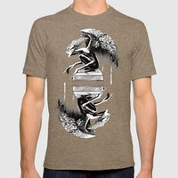 Ink Goblin  Mens Fitted Tee Tri-Coffee SMALL